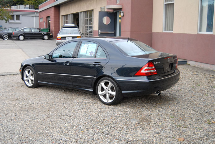 German motors 2005 mercedes benz c230 kompressor sport sedan for Mercedes benz c230 kompressor 2005
